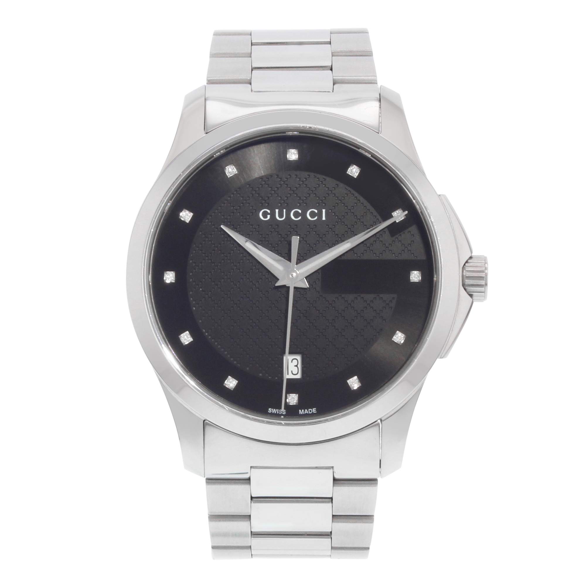 05bc9ca6e4c Gucci G-Timeless YA126456 Stainless Steel Quartz Unisex Watch