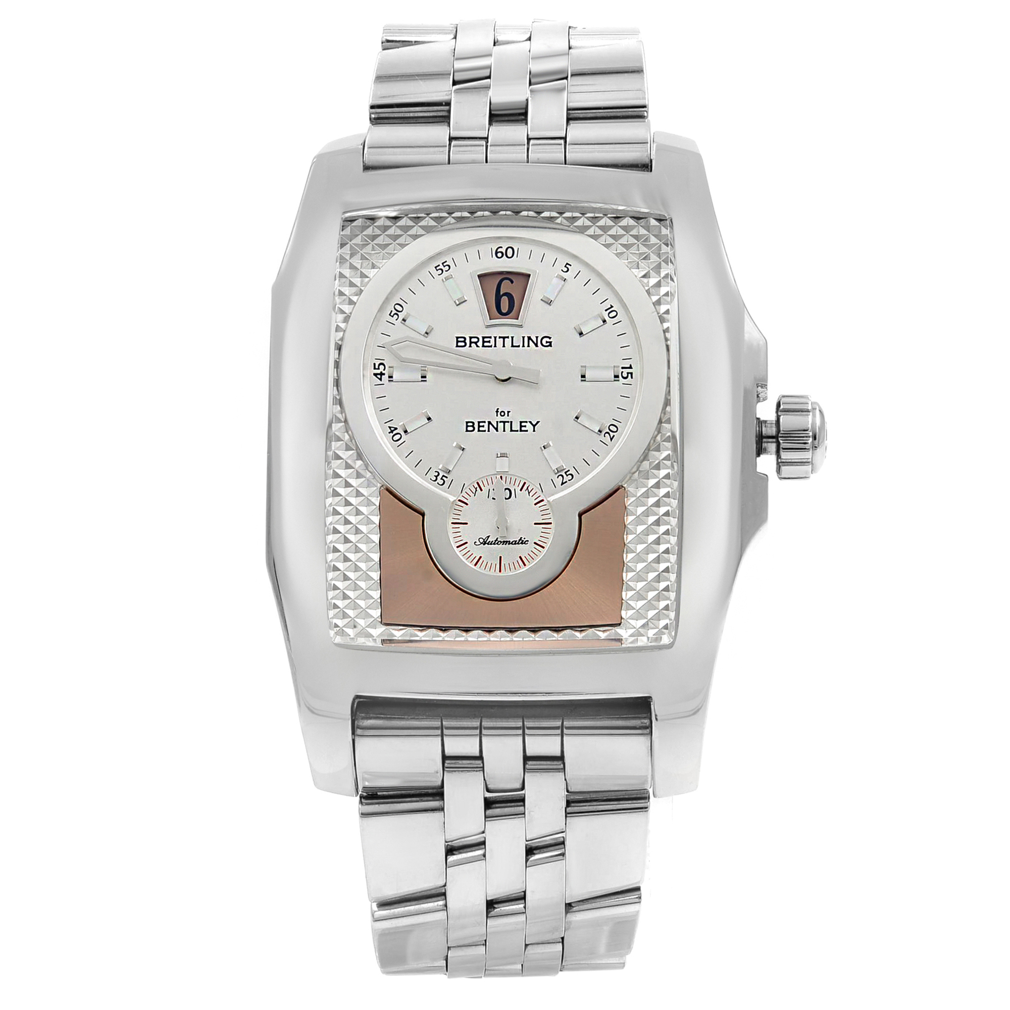 47fd7a038ad Breitling for Bentley Flying B Steel Automatic Mens Watch A2836212 H521-982A