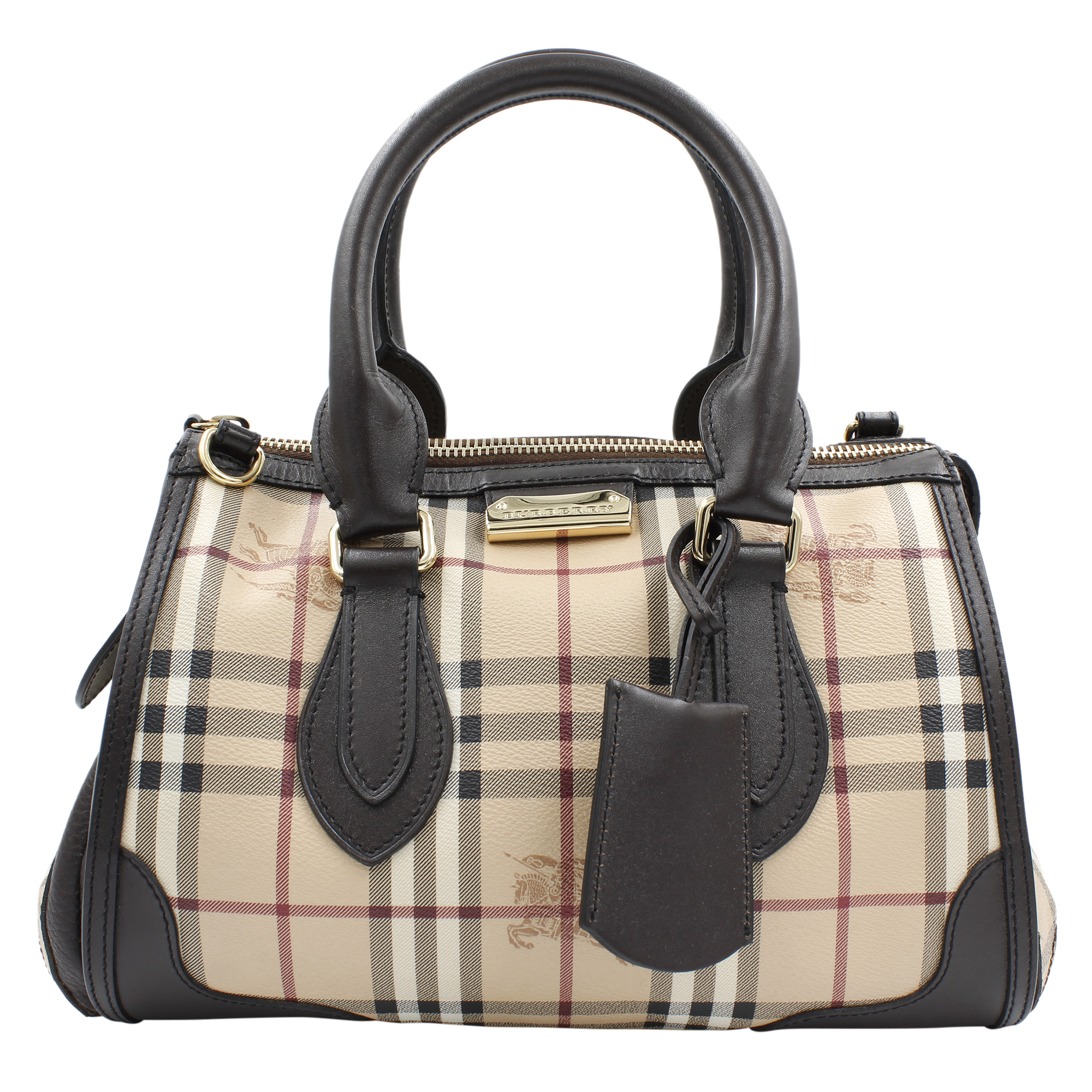 b3d8a70990d2 Burberry 3870759 Gladstone Chocolate Ladies Tote Satchel Bag ...