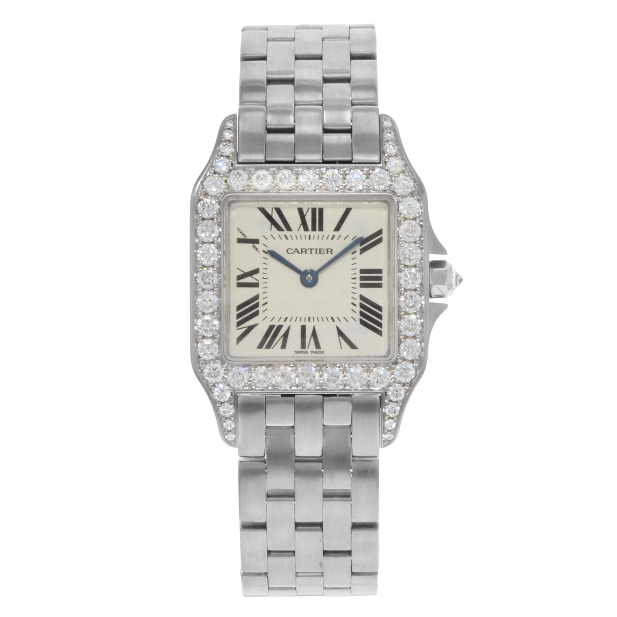 and gold diamond owned ladies with watches pre bezel stainless steel white rolex datejust