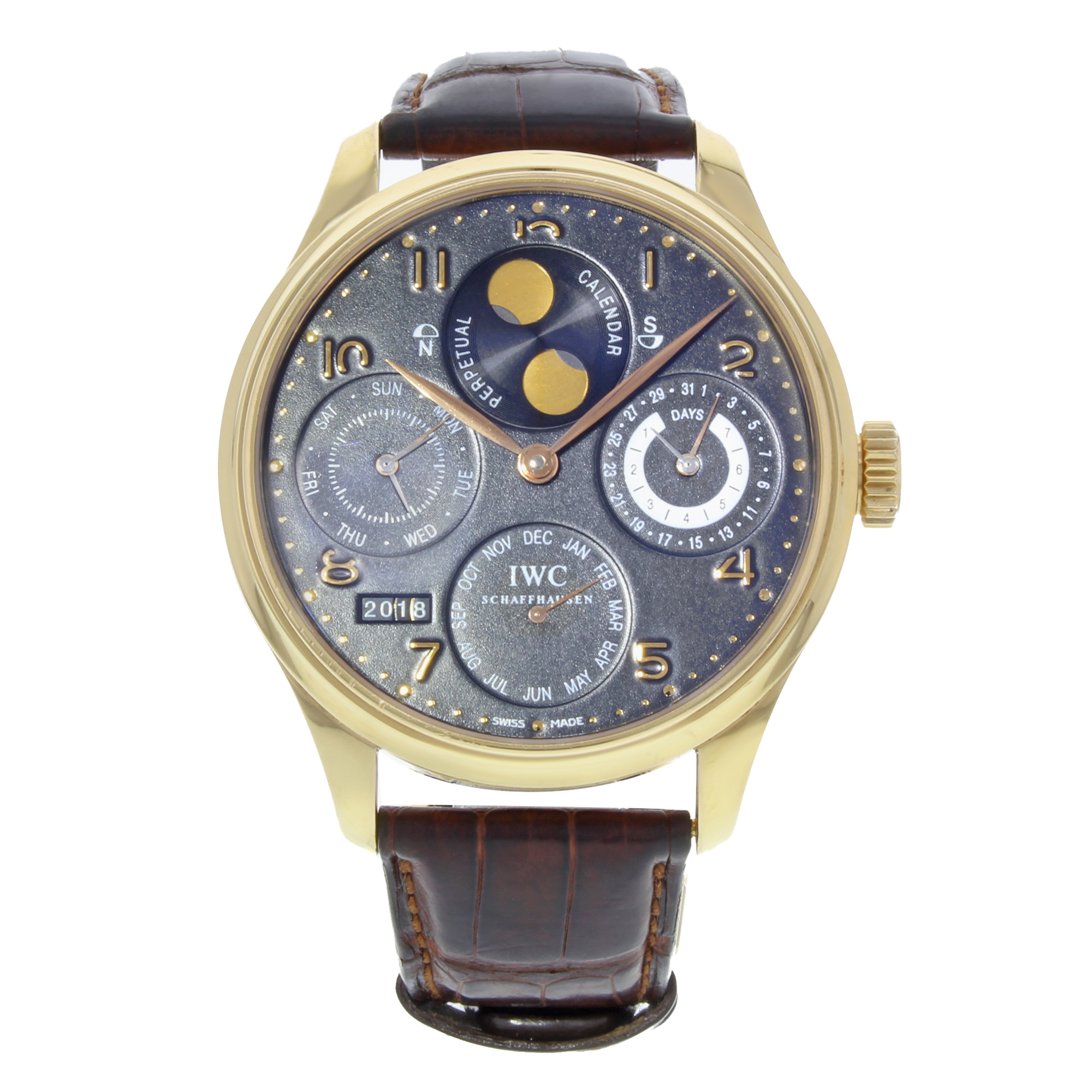 watch complications perpetual collection grand watches patek yellow philippe gold calendar in ref